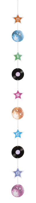 Hang decoratie Disco