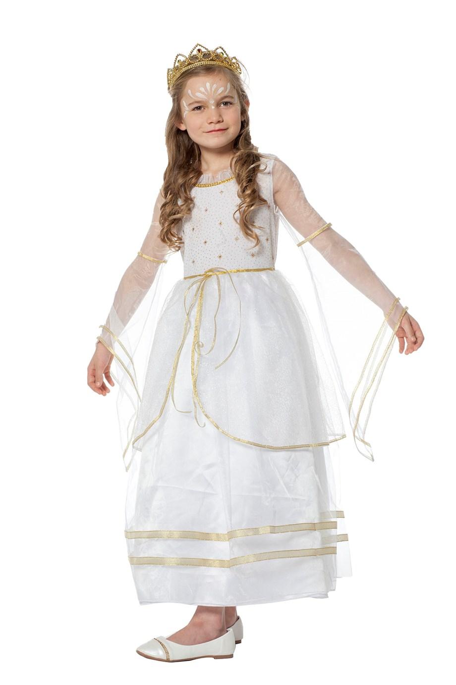 Engelen jurk wit voor meisje