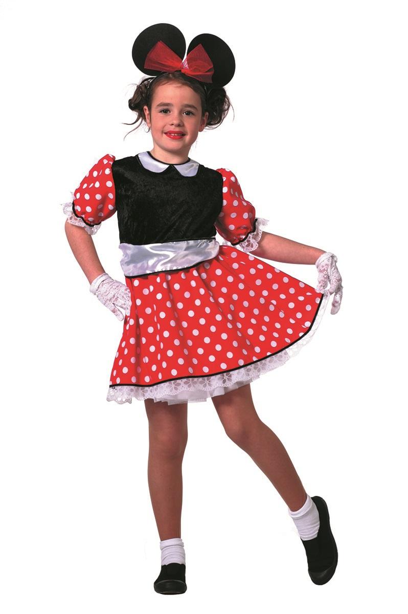 Minnie muis jurk modern voor kind