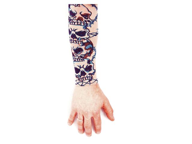 Tattoo sleeve doodskop