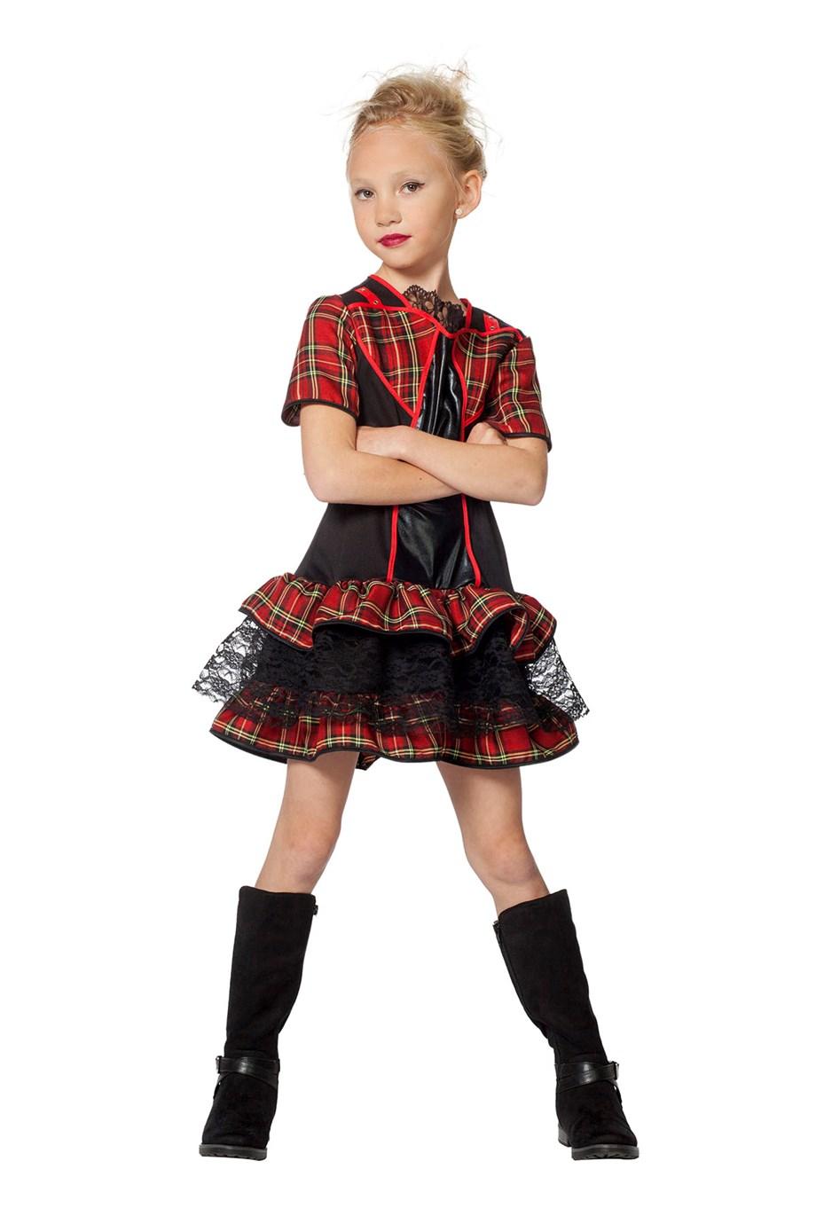 Punk jurkje voor meisje