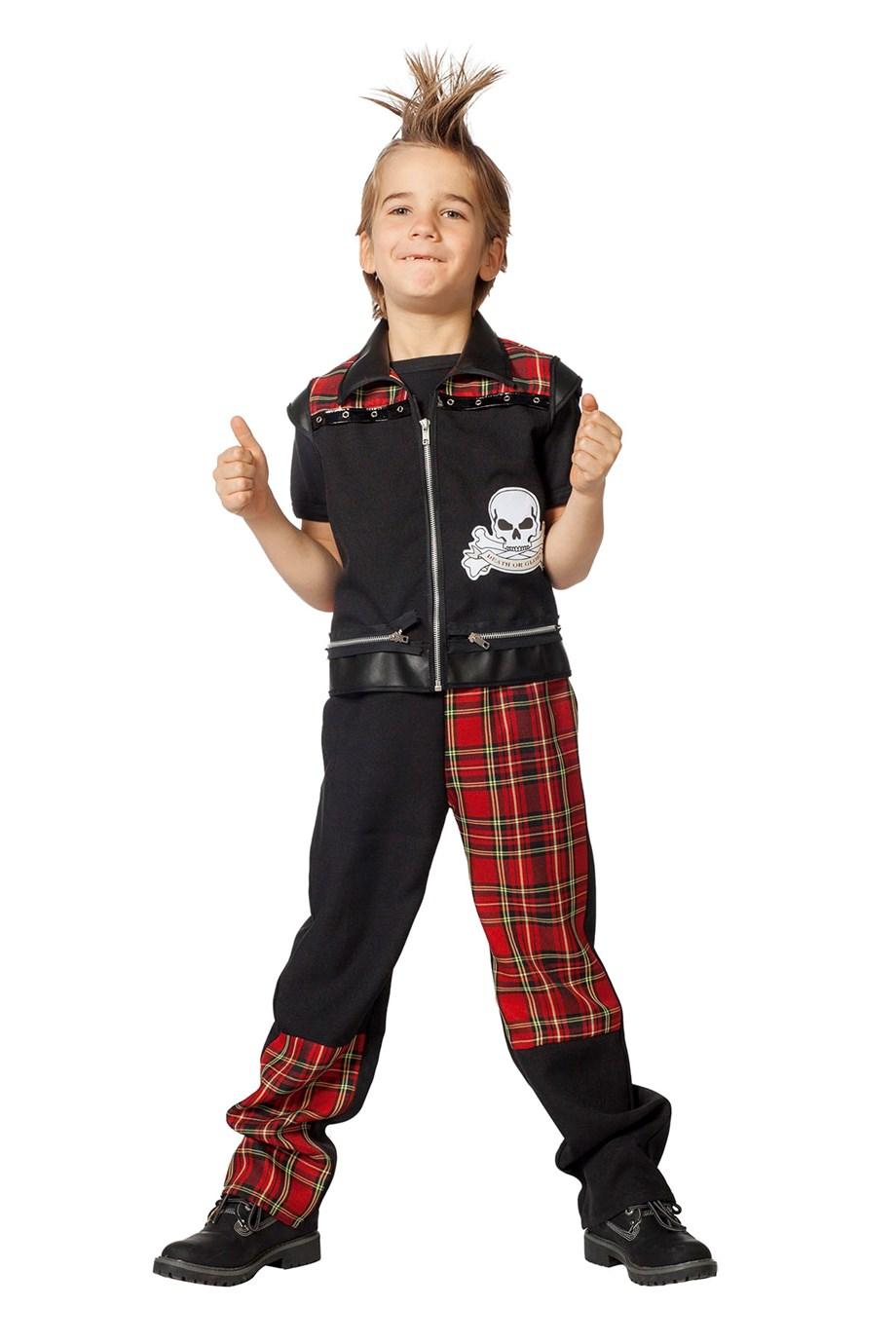Punker pak voor jongen