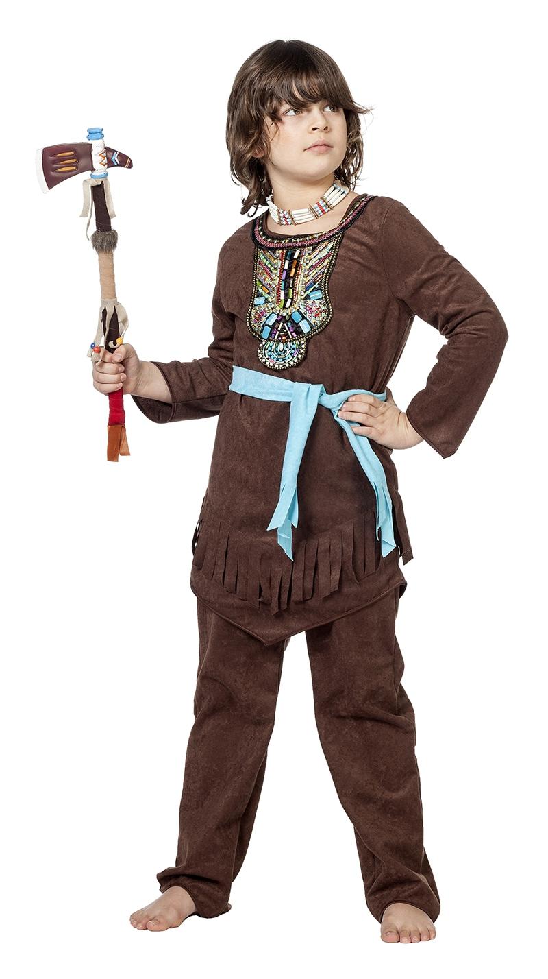 Indiaan kostuum Chief luxe voor kind