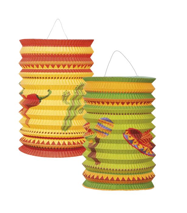 Lampion nen Fiesta set van 2 stuks
