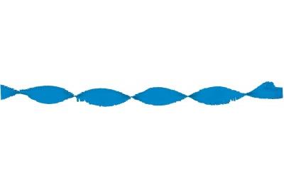Crepeguirlande Middenblauw 6m