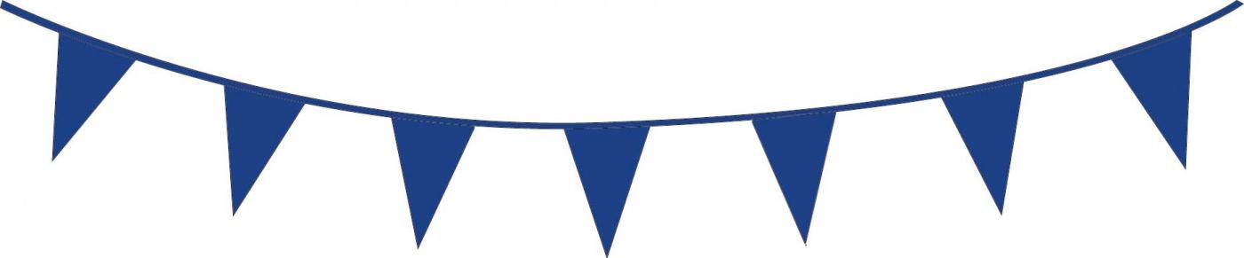 Vlaggenlijn Blauw 10m.