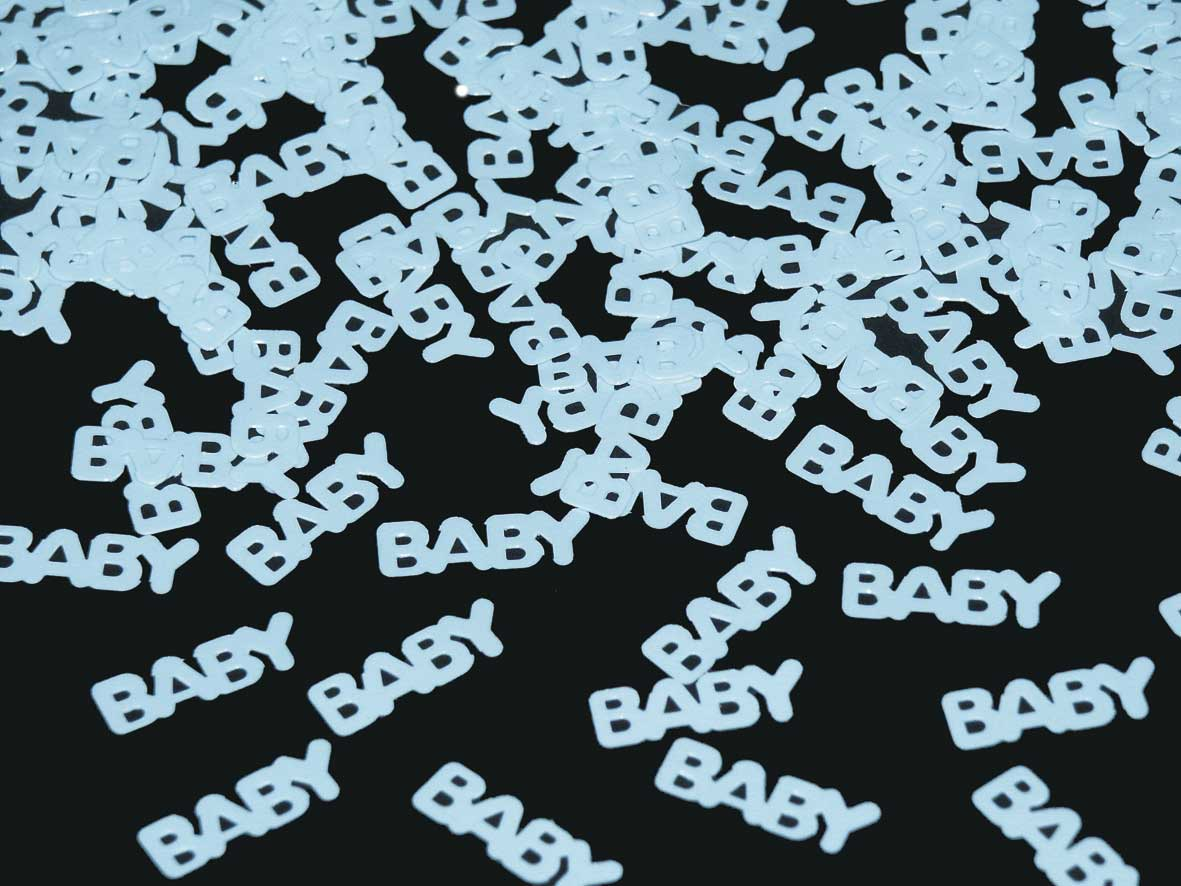 Confetti Baby Blauw 15gr.
