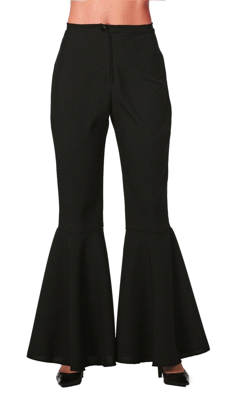 Hippie broek zwart voor dame