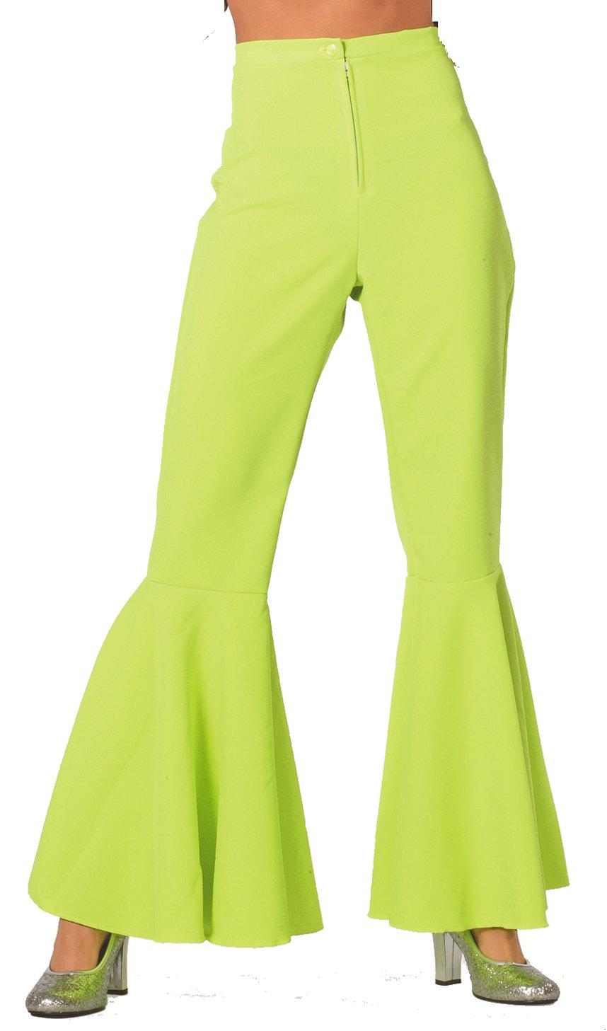 Hippie broek groen voor dame