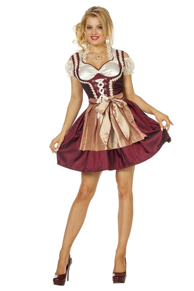 Dirndl jurk Steffi voor volwassenen