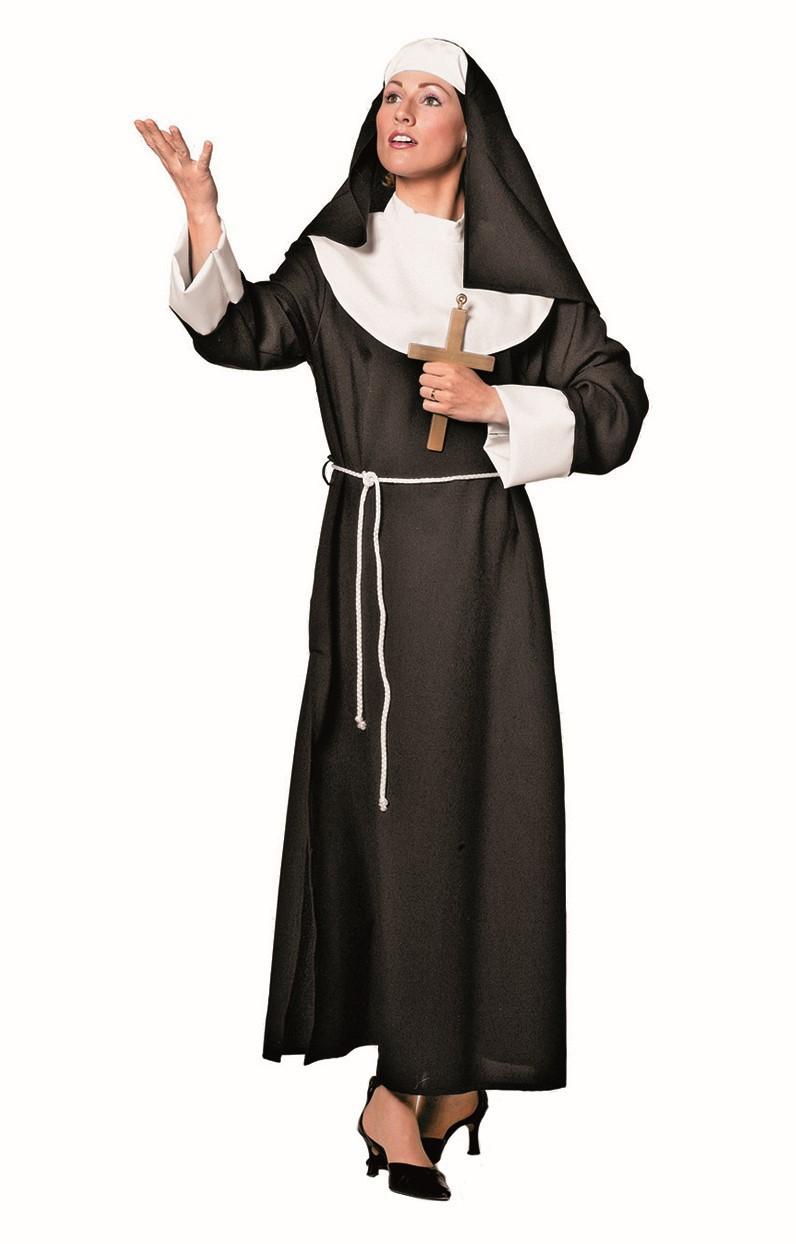 Nonnen jurk voor dame