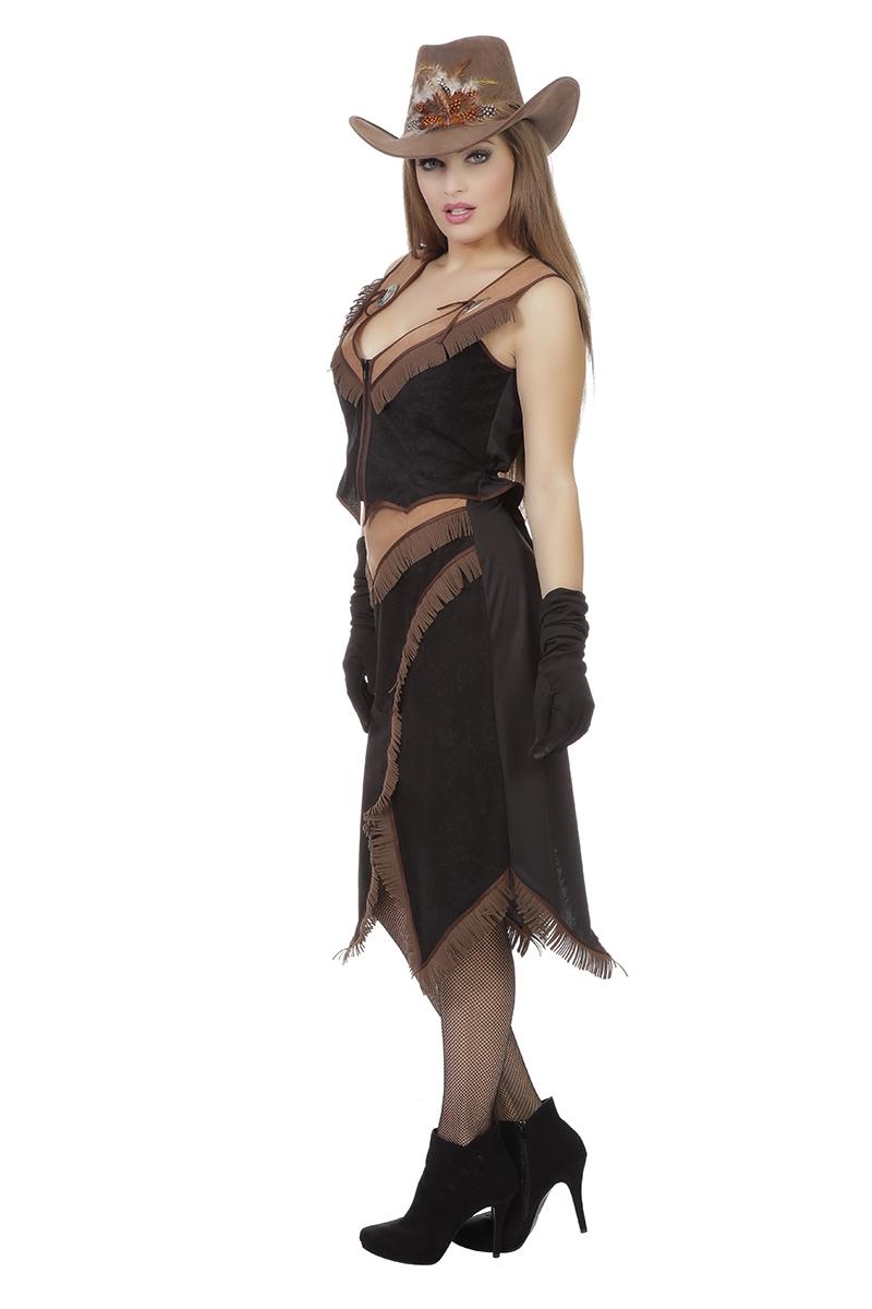 Cowgirl Oakley rok en gilet voor dame