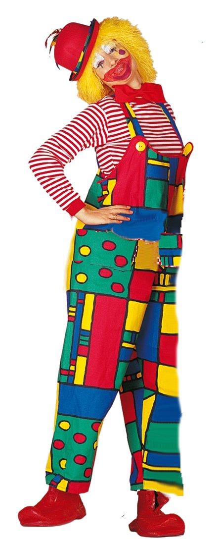 Clownsbroek Mondriaan voor dame