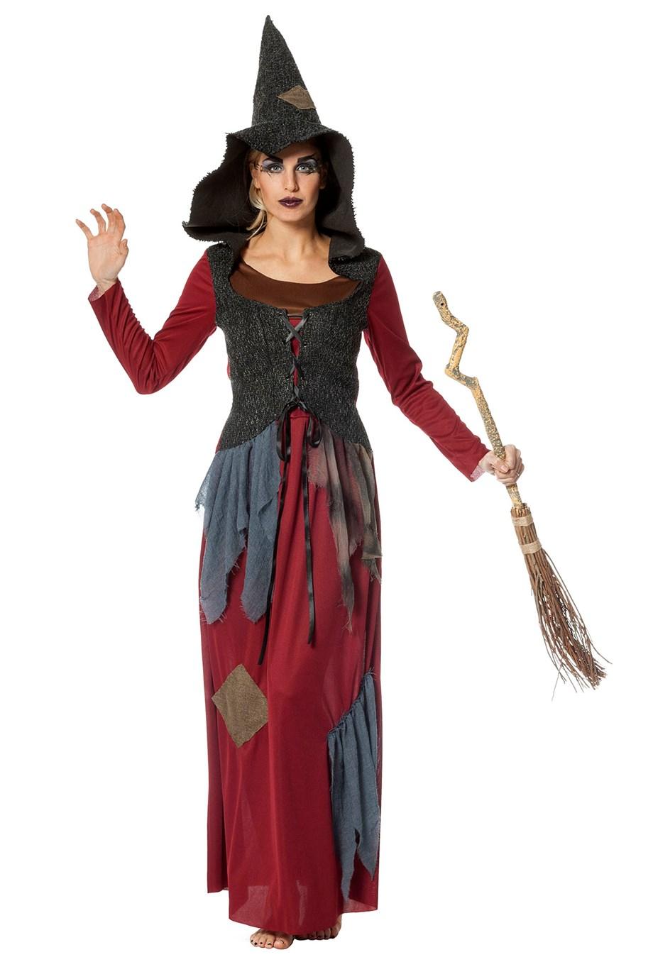 Heksenjurk hoody voor dame