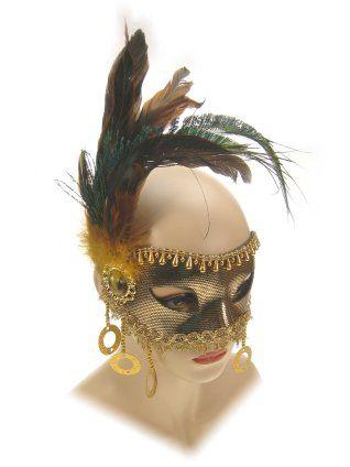 Oogmasker florence goud luxe