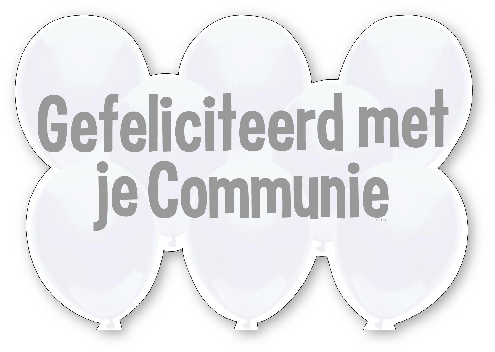 Kroonschild Communie.