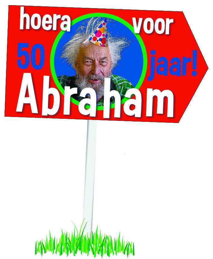 Tuinbord Abraham.