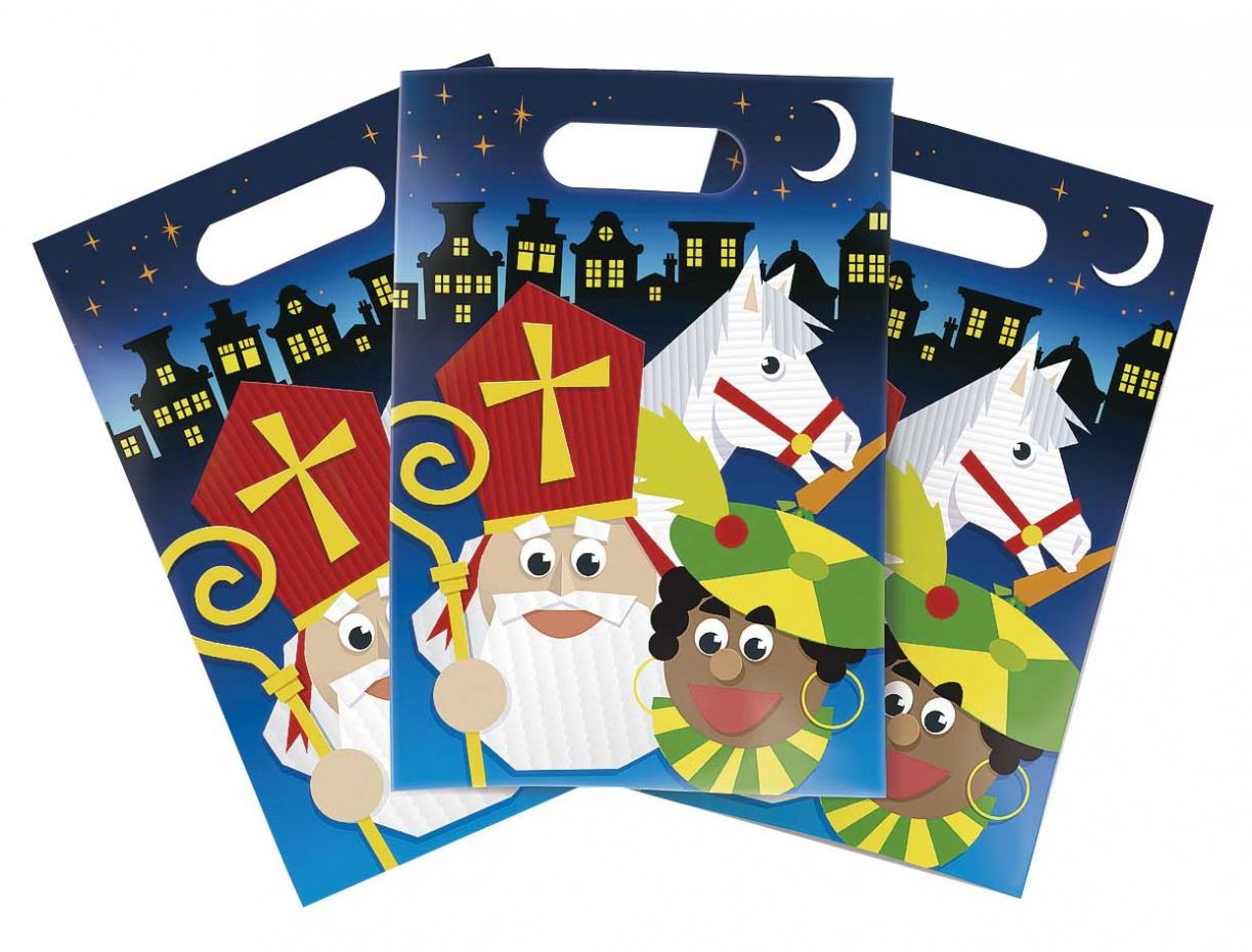 Partybags Sinterklaas 6 stuks.