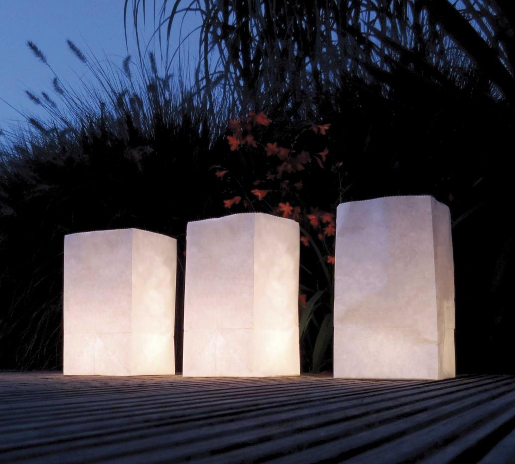 Lichtzakjes Blanco