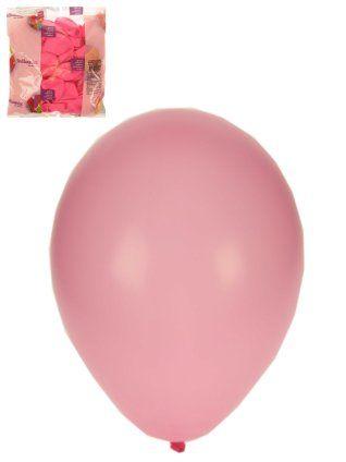 Helium ballonnen babyrose 100 stuks