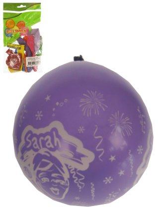 Ballonnen 8 stuks met tekst Sarah full printed