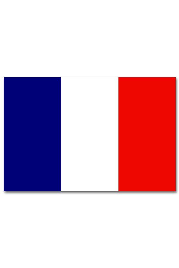 Vlag Frankrijk zonder ringen