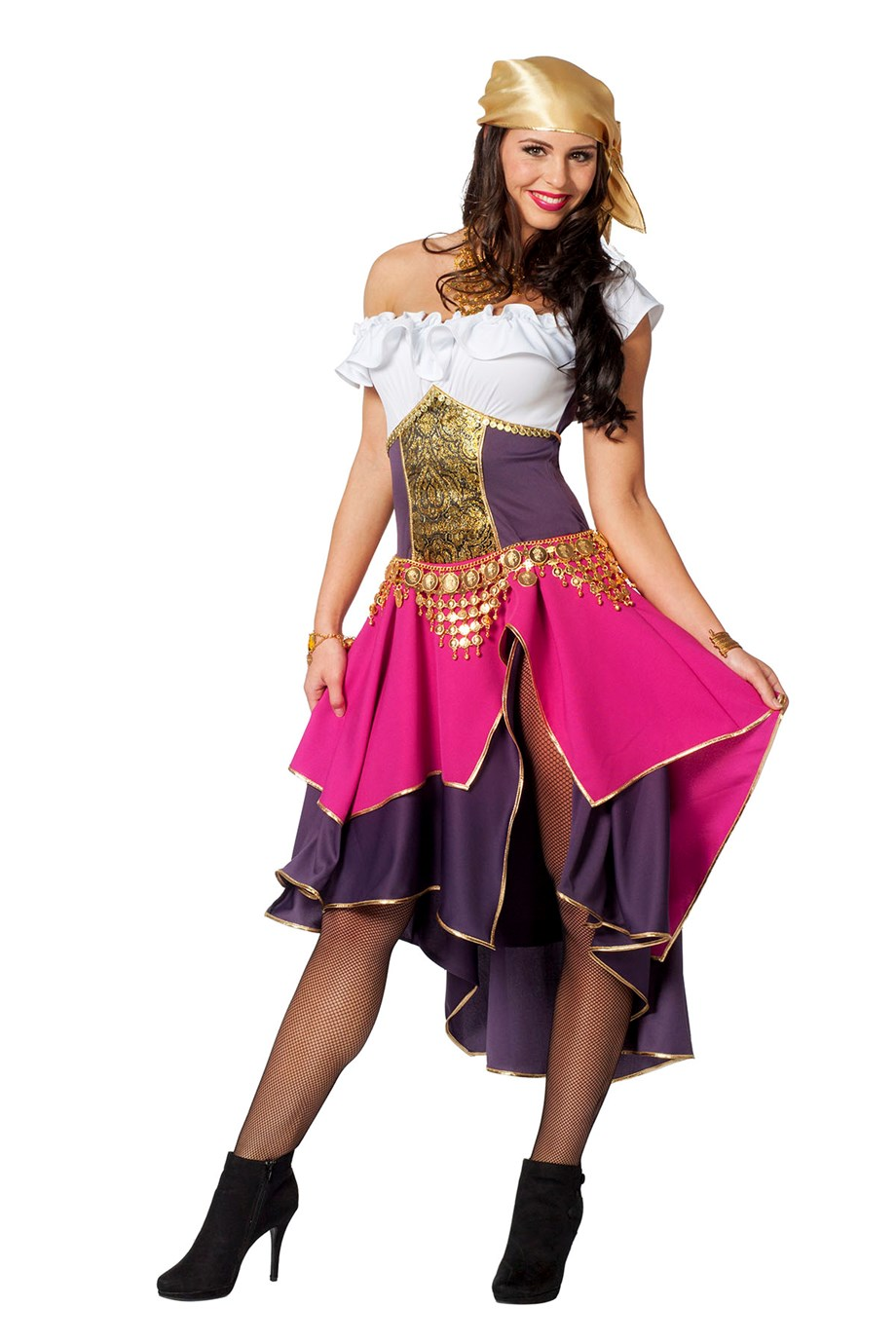 Zigeunerin jurk Mariska voor volwassenen