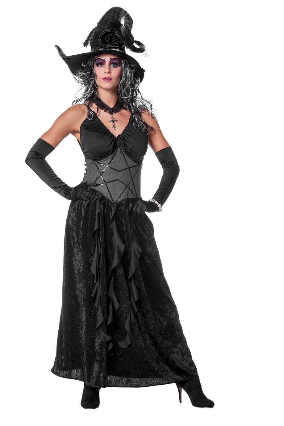 Black Angel zwarte jurk voor dame