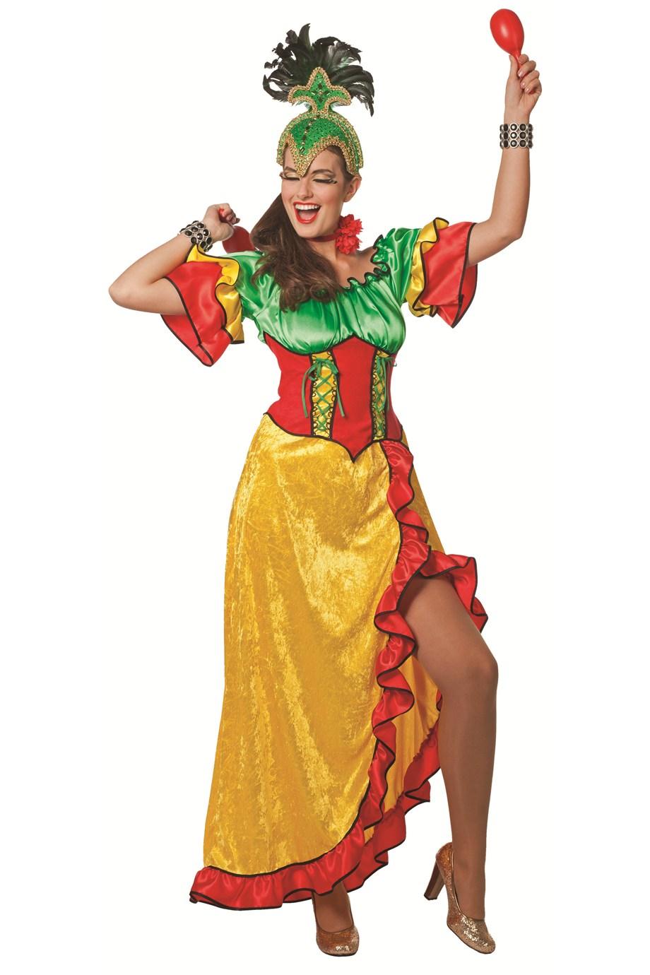 Tropical jurk Grenada voor dame