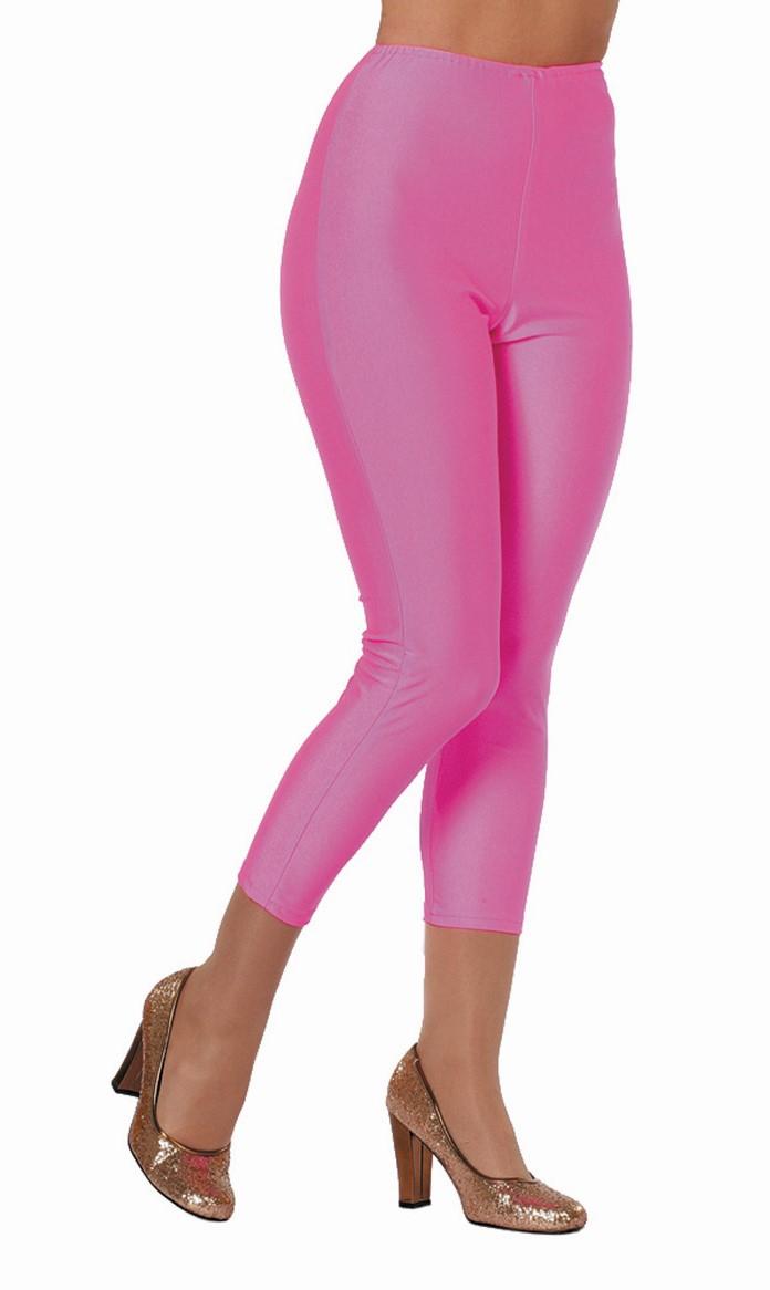 Legging neon pink voor dame