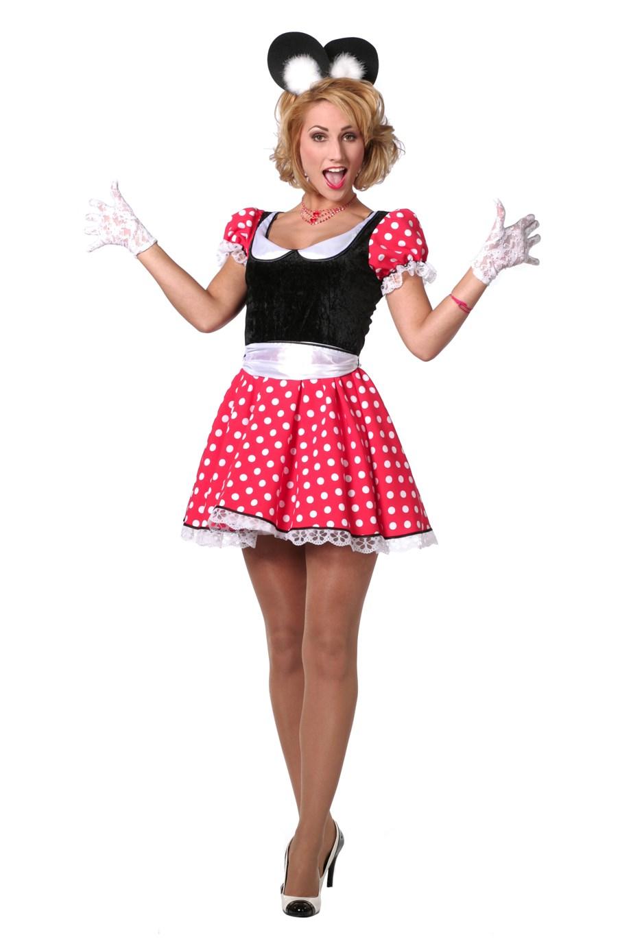 Minnie modern jurk voor dame