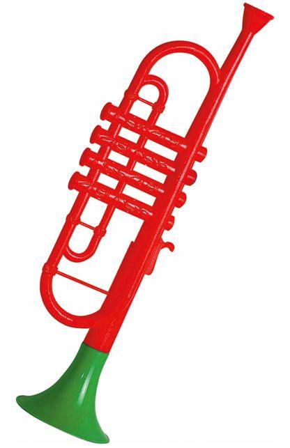 Trompet plastic per stuk