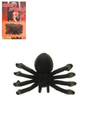 Spinnen op blister card