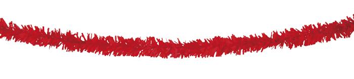 PVC slinger rood (10 m) brandvertragend
