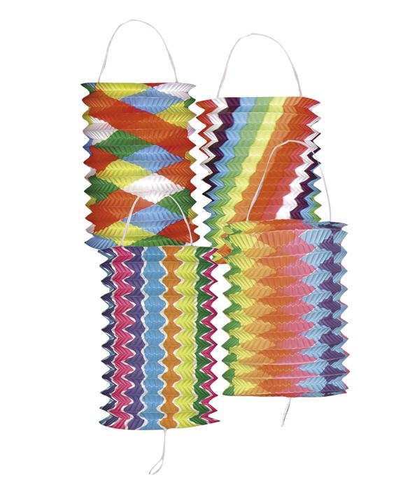 Lampion Brightness assorti (16 cm) wordt per stuk en per kleur geleverd.