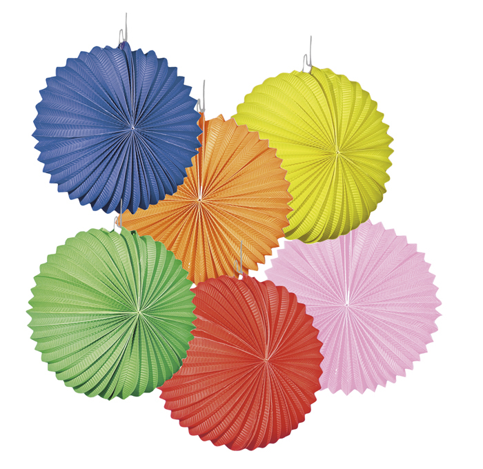 Lampion Unicolour balloon diverse kleuren (22cm) per 12 stuks