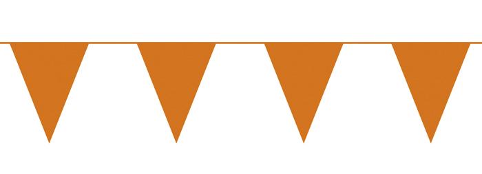 PE vlaggenlijn 80 vlaggen 40M oranje