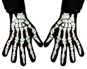 Hand schoenen skelet