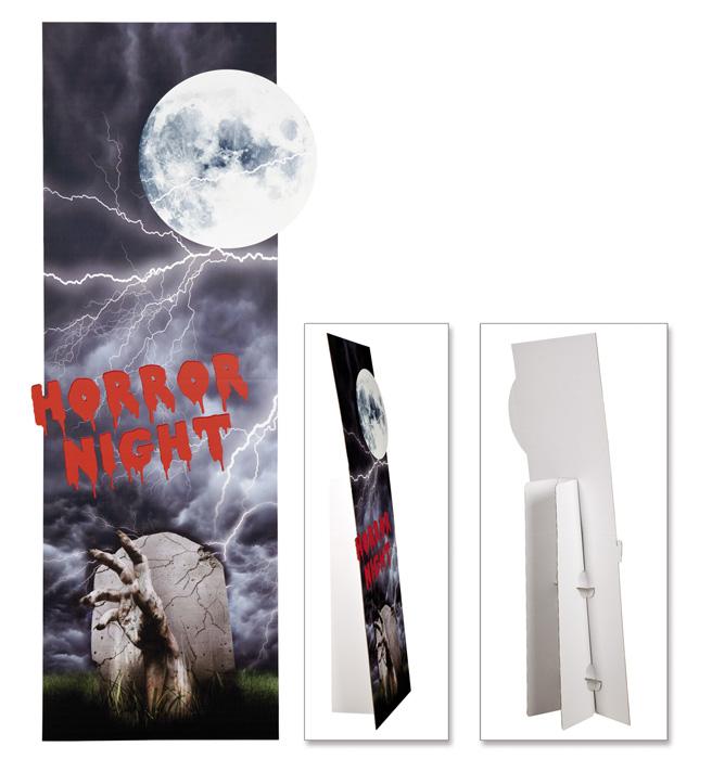 Decoratie Horror night (65 x 160 cm)