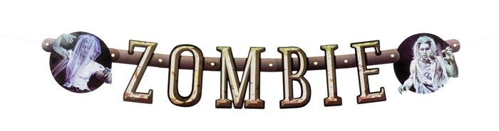Letter slinger Zombie (100 cm)