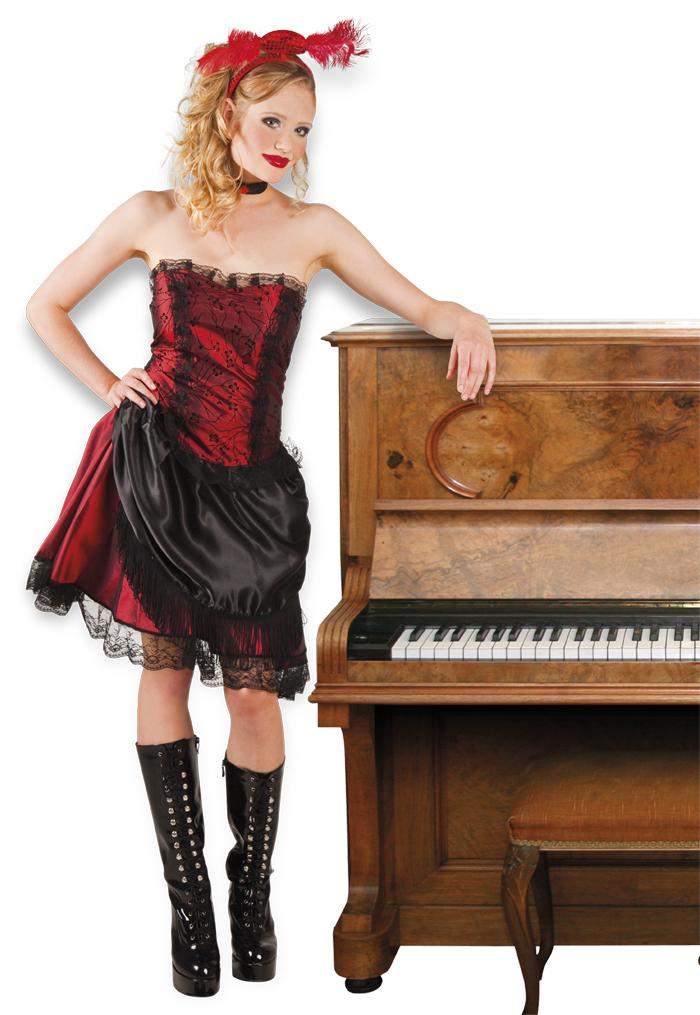 Saloon lady saloon jurk voor dame
