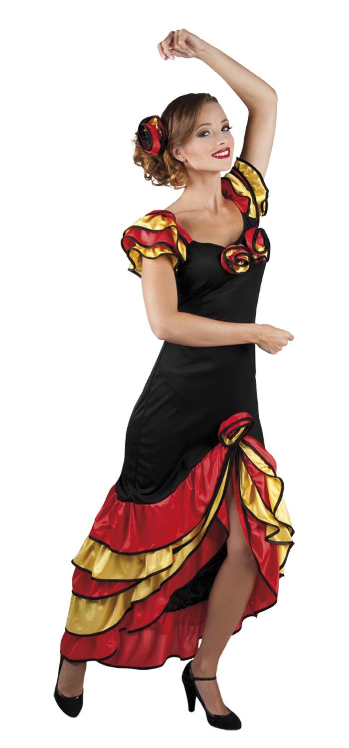 Rumba woman Spaanse jurk voor dame