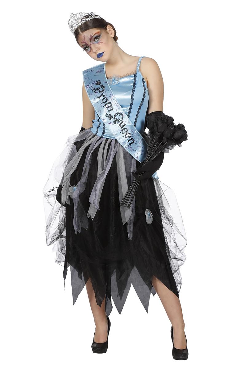 Zombie prom queen jurk voor dame