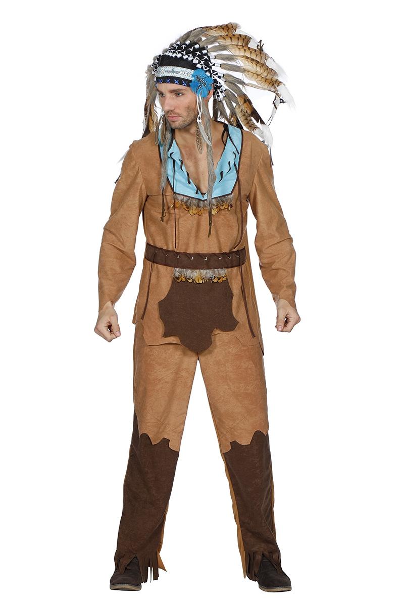 Indiaan Arapaho kostuum voor heer