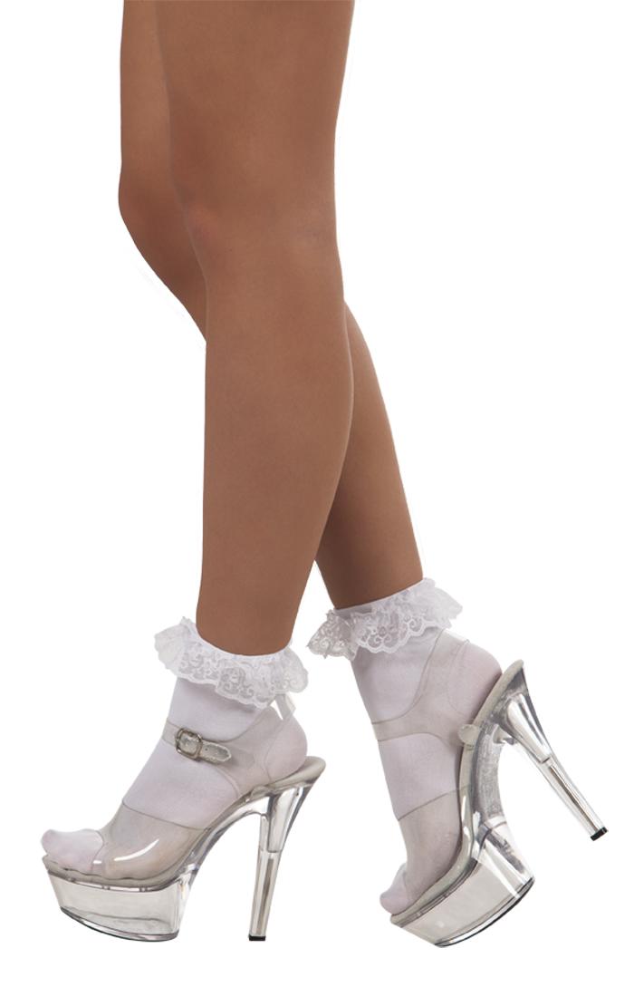 Sokken Lacy wit