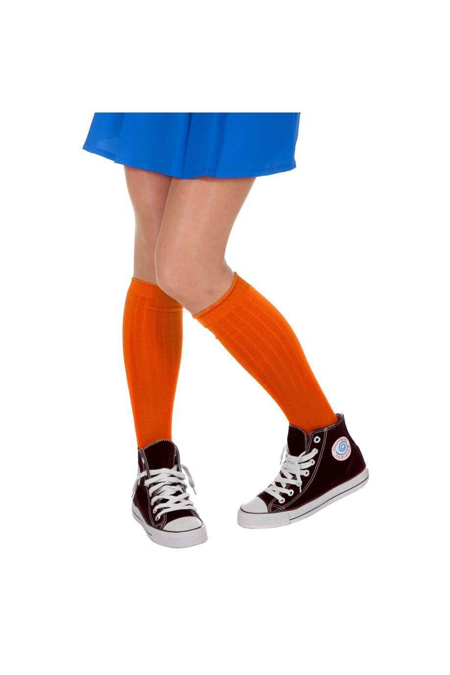 Voetbal sokken oranje