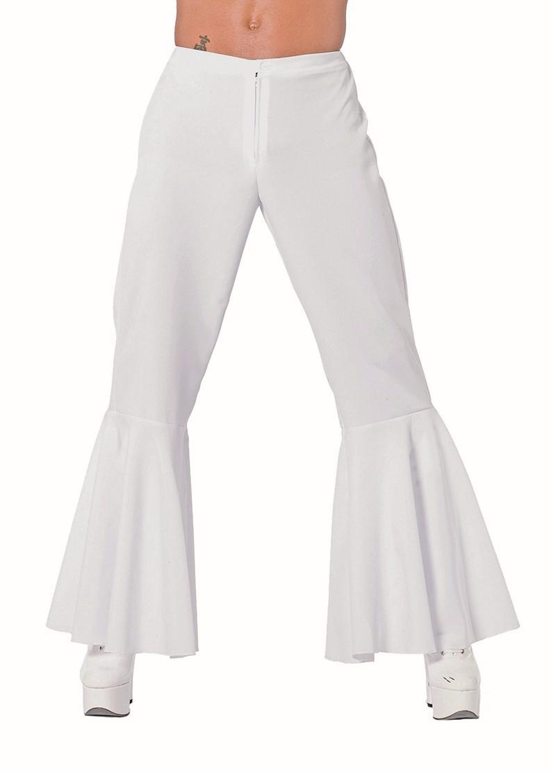 Hippie broek wit voor heer