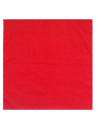 Zakdoek uni rood