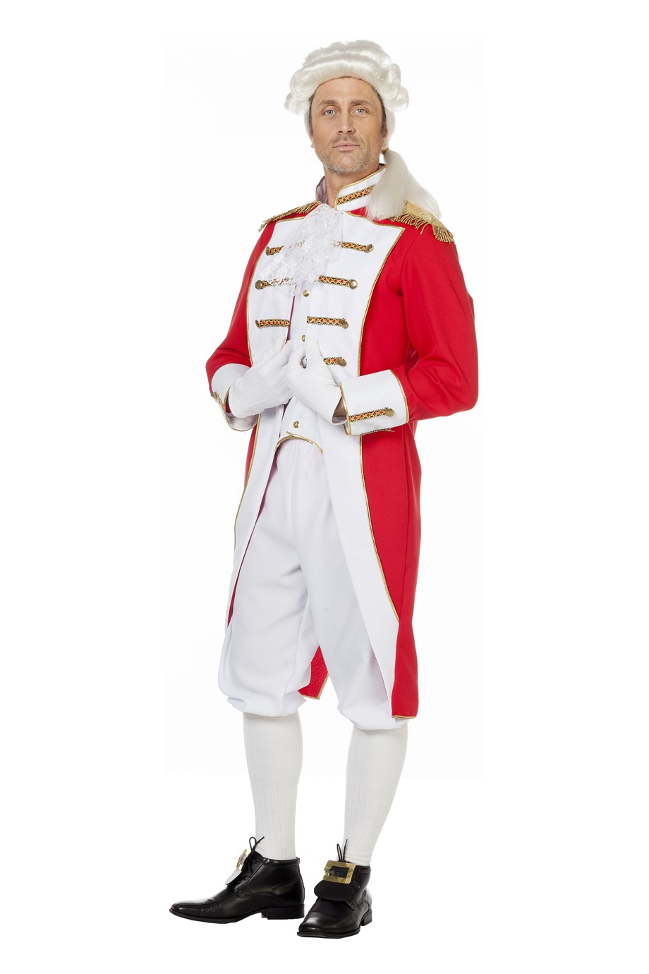 Garde kostuum voor heer