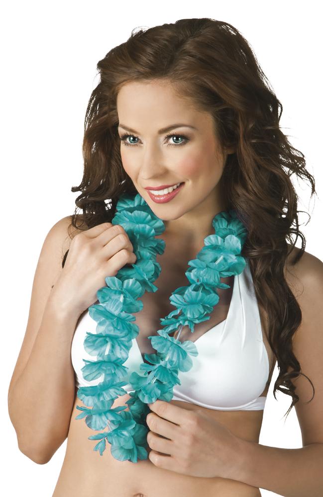 Hawaïkrans Ohana turquoise